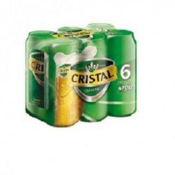 Cerveza Lager Cristal 470...