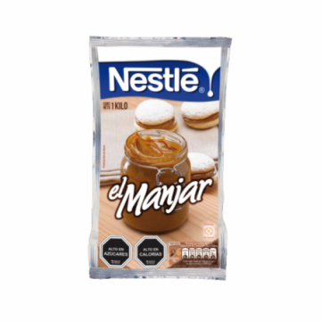 Manjar Nestlé, 1 Kg.
