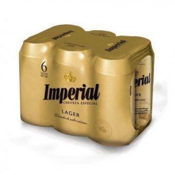 Cerveza Imperial, 473 ml....